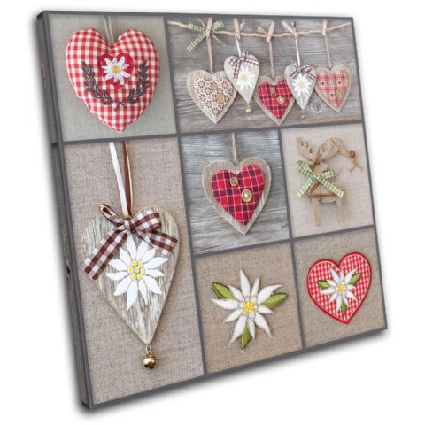 Hearts shabby chic Love - 13-0563(00B)-SG11-LO